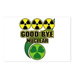 Good-bye Nuclear Postcards (Package of 8)