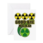 Good-bye Nuclear Greeting Card