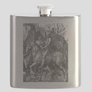 Albrecht Durer Knight Death and the Devil Flask