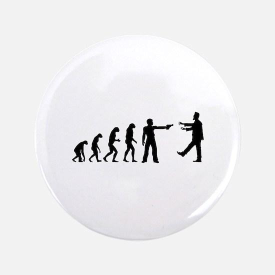 "Evolution of man vs zombie 3.5"" Button"