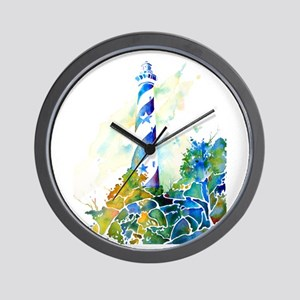 Cape Hatteras Lighthouse Wall Clock