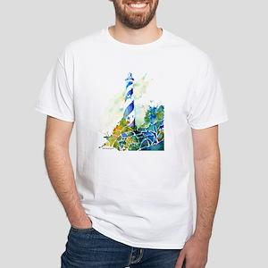 Cape Hatteras Lighthouse White T-Shirt