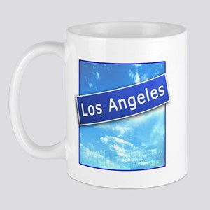 LA Street Sign Mug