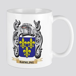Bjorling Family Crest - Bjorling Coat of Arms Mugs