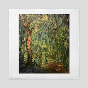 Claude Monet Weeping Willow Queen Duvet