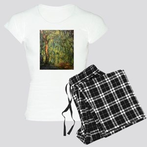Claude Monet Weeping Willow Women's Light Pajamas