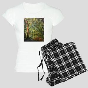 Claude Monet Weeping Willow Women's Light Pajamas