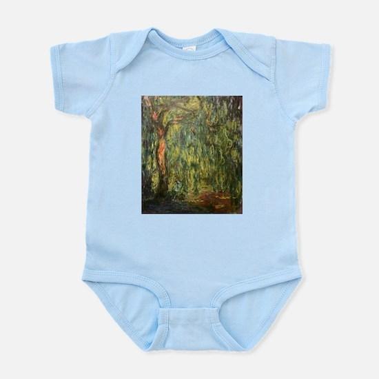Claude Monet Weeping Willow Infant Bodysuit