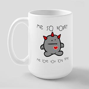 SO HORNY copy Mugs