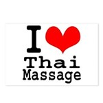 I love Thai Massage Postcards (Package of 8)