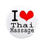 """I love Thai Massage 3.5"""" Button"""