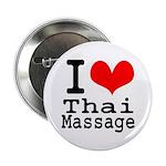 """I love Thai Massage 2.25"""" Button"""