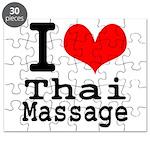 I love Thai Massage Puzzle