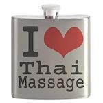 I love Thai Massage Flask