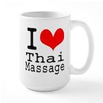 I love Thai Massage Large Mug