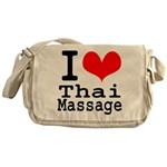 I love Thai Massage Messenger Bag