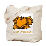 Peanut Butter Monster Tote Bag