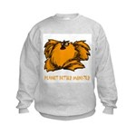 Peanut Butter Monster Kids Sweatshirt