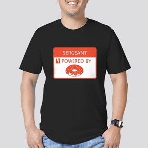Sergeant Powered by Doughnuts Men's Fitted T-Shirt