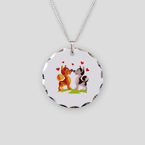 Wedding Necklace Circle Charm
