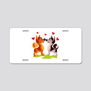 Wedding Aluminum License Plate