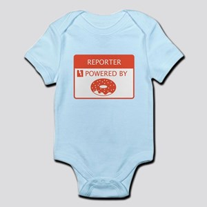 Reporter Powered by Doughnuts Infant Bodysuit
