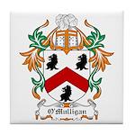 O'Mulligan Coat of Arms Tile Coaster