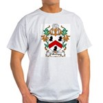 O'Mulligan Coat of Arms Ash Grey T-Shirt