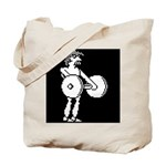 HyperSports Weight Lifter White Tote Bag