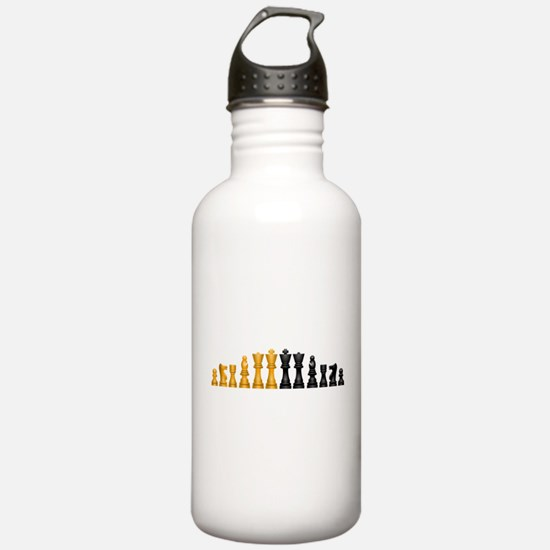 Family of Chess Water Bottle