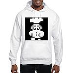 Cookie Chef White Hooded Sweatshirt