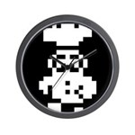 Cookie Chef White Wall Clock