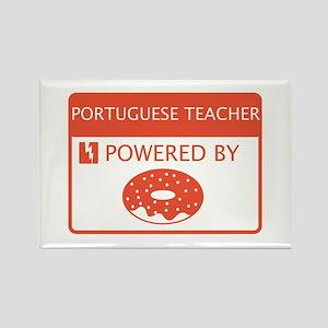 Portuguese Teacher Powered by Doughnuts Rectangle