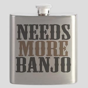 Needs More Banjo Flask