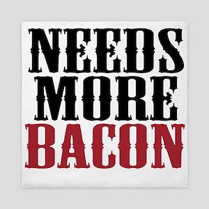 Needs More Bacon Queen Duvet