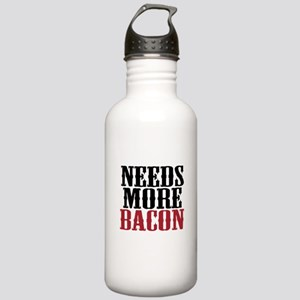 Needs More Bacon Stainless Water Bottle 1.0L