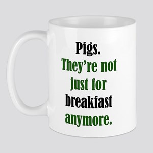 Pigs & Pork Breakfast Mug