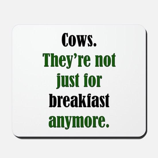 Cows & Beef Breakfast Mousepad