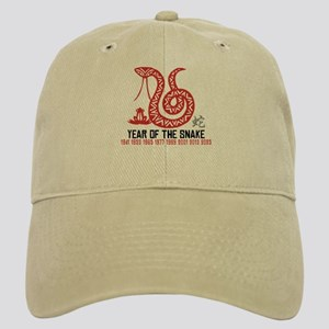 Chinese Paper Cut Year of The Snake Cap