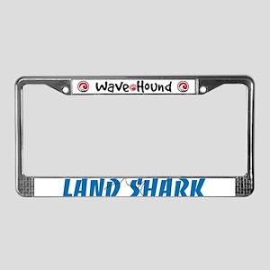 Land Shark License Plate Frame