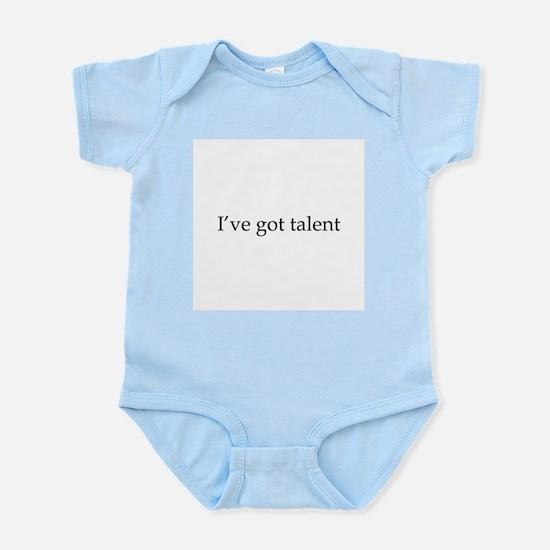 I've got talent Infant Creeper