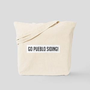 Go Pueblo Siding Tote Bag