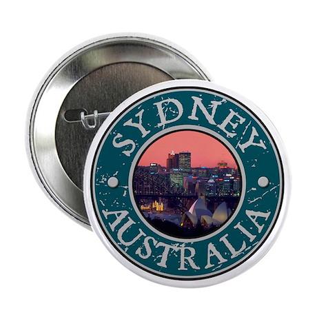 """Sydney, Austrailia 2.25"""" Button"""