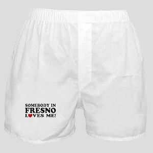 Fresno California Boxer Shorts