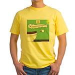 Taco Tuesday Tragedy Yellow T-Shirt