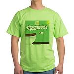 Taco Tuesday Tragedy Green T-Shirt