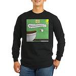 Taco Tuesday Tragedy Long Sleeve Dark T-Shirt