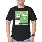 Taco Tuesday Tragedy Men's Fitted T-Shirt (dark)