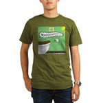 Taco Tuesday Tragedy Organic Men's T-Shirt (dark)