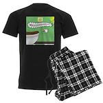Taco Tuesday Tragedy Men's Dark Pajamas